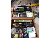 All u need is here 3x rods landing net unhooking mat tent umbrella tackle bait all-sorts