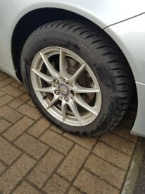 4x Winter Tyres - 205/55/16 R - GoRadial - under 1000 miles used.