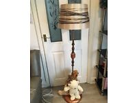 Beautiful and Unique Sparkle Teddy Floor Lamp