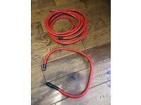 Autoleads 0 guage 50mm Red Car Audio Power Cable approx 5 metres length