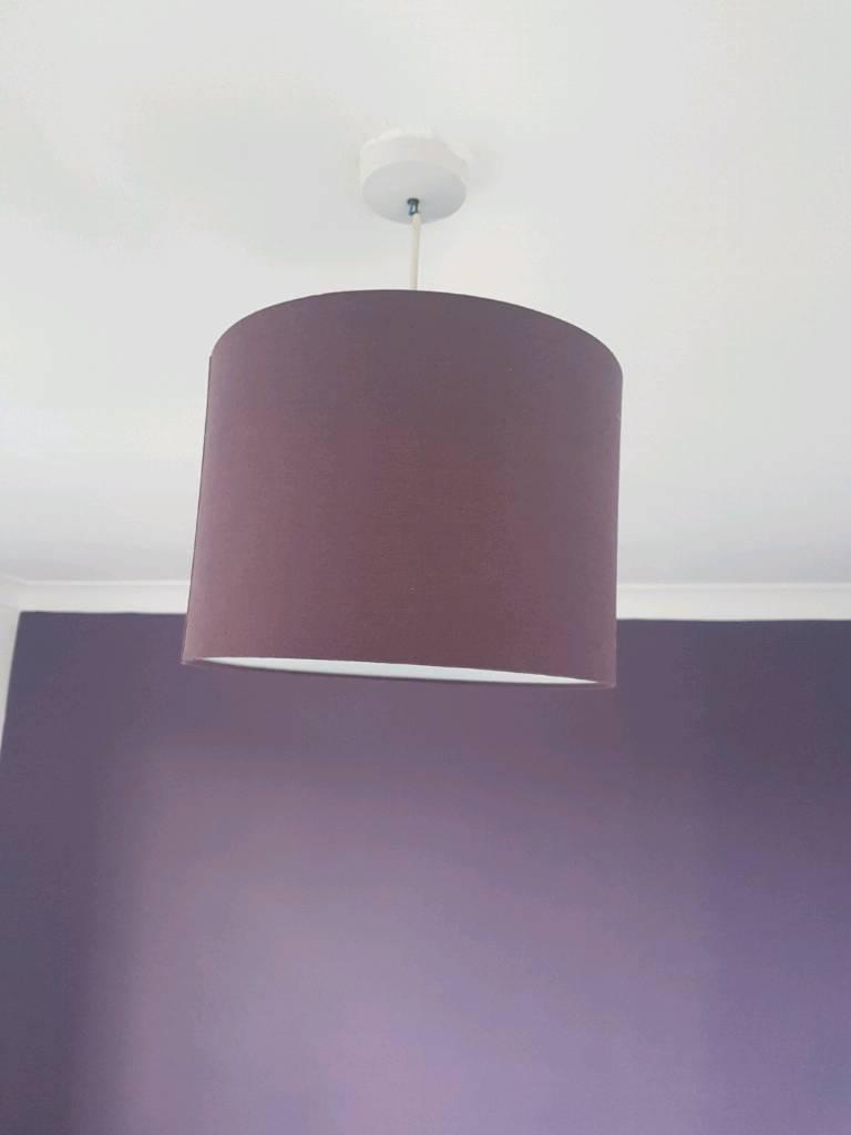 Purple light shade