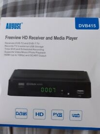 FREEVIEW & MEDIA PLAYER