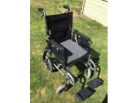 Folding Wheelchair with front table