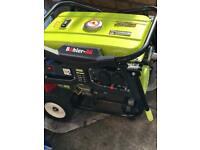 Generator nearly new