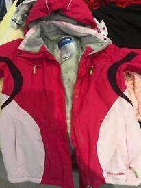 Ladies waterproof Trespass Jacket (L)