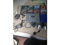 Playstation 1 and 9 games and accessories