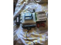 Xbox 360 with 15 games ,controllers