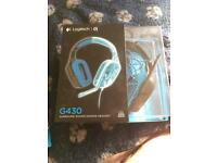 Logitech G430 Gaming Headset with 7.1 Dolby Surround Sound