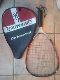 2 Browning Racquet Ball racquets with 3 balls (one used). Happy to sell racquets separately