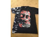 Scary face tshirt