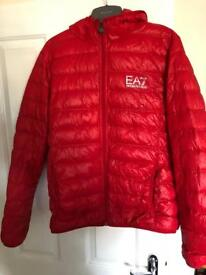 MENS EA7 BUBBLE COAT MUST SELL NOW