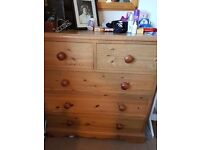Solid Pine Chest of Drawers - Beautiful