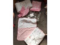 Mothercare Nursery bundle cost £80 new
