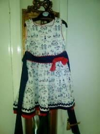 Abella seaside Spanish dress