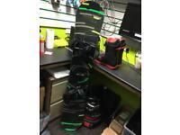 Burton Clash 160cm Snow Board, highline boa boots Bindings & bag