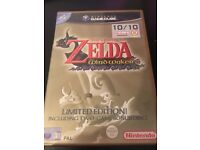 Zelda The Wind Waker Limited Edition 2 Disc with Original Manual AS NEW CONDITION