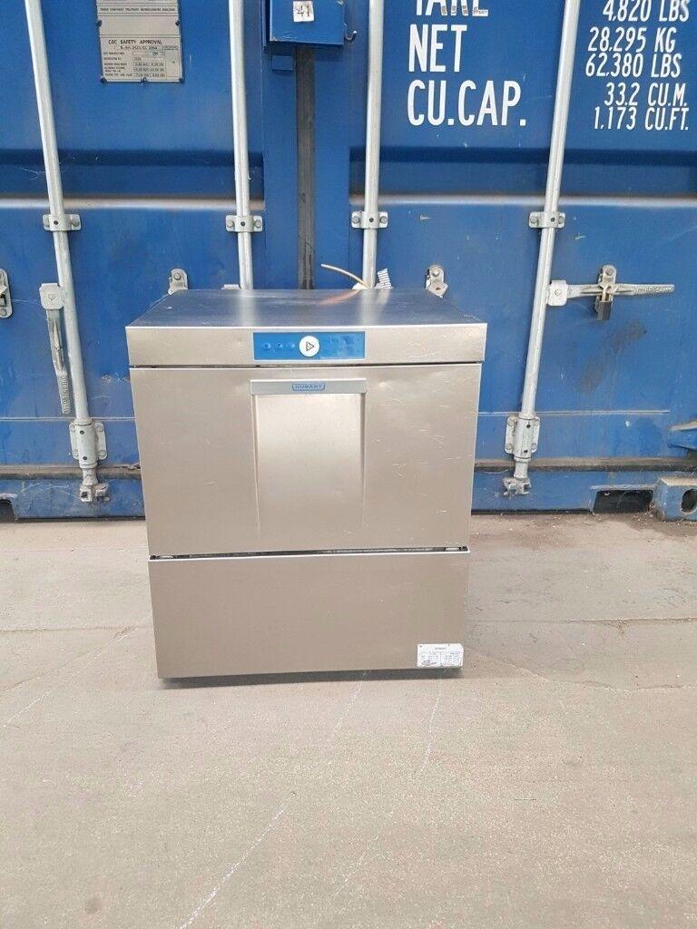 Hobart under counter dishwasher commercial glass washer 50X50 basket 1 phase