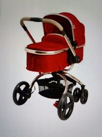 Mothercare orb carrycot and pram.
