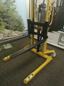Big Joe Pallet Stacker - Brand New - 2200 Pound Capacity - Only $1999!
