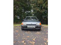 Ford Fiesta ghia 1984