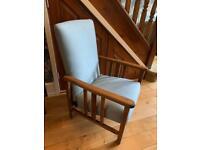 Art Deco Low Recliner Chair
