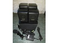 Creative Cambridge Soundworks 4.1 Speaker Systems FPS1600 (Open to Offers)