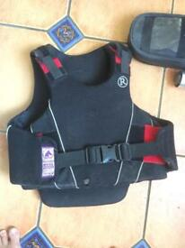 Horse riding body protection
