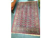 Large traditional vintage antique rug (? Persian, Turkish)