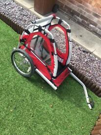 1 child bike trailer