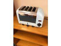 Dualit 4 slice toaster light blue