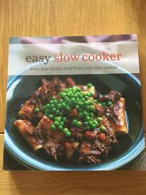 Easy slow cooker recipe book as new condition