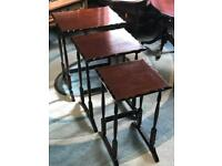 Mahogany Nest of Tables (@07752751518)