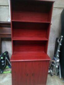 unit with shelf