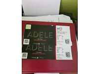 2 tickets for Adele For Thursday 29th June Plus overnight accommodation