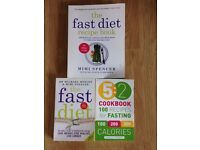 The Fast Diet Collection Recipe 3 Books