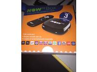 Now tv box (NO PASS)
