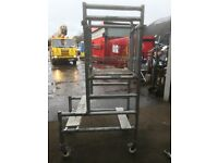 Scaffold/ fold away aluminium podium