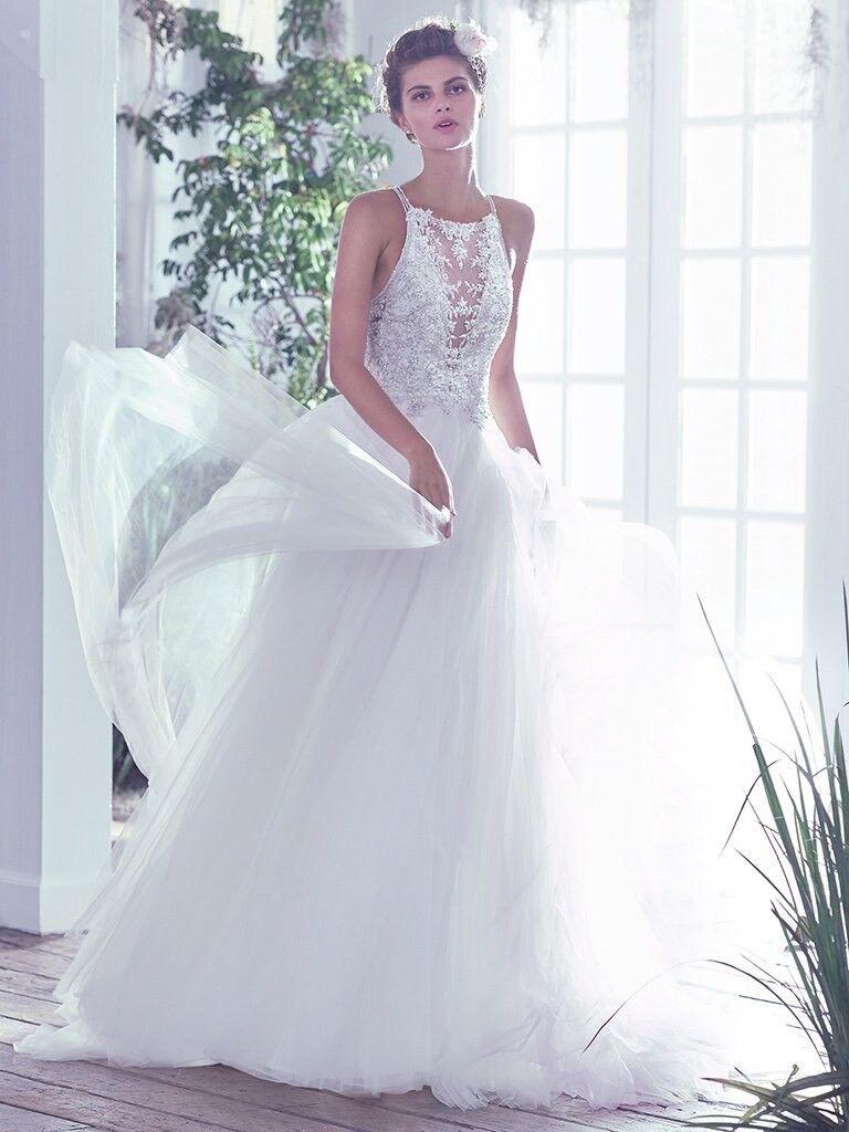 Maggie Sottero Lisette Wedding Dress (UK 8-10) RRP £1,300 | in ...