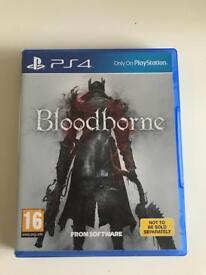 Bloodborne PS4 Game Immaculate Condition