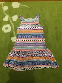 Girls age 4-6 H and M summer dress