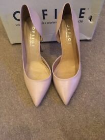 Gorgeous nude heels from Office size 6