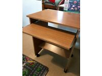 Computer desk - Oak