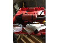 Hilti grinder brand new