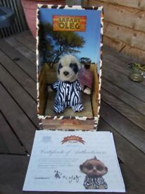 Boxed Limited Edition Safari Oleg Meerkat