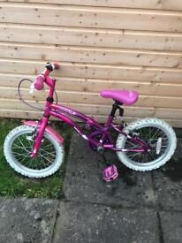 Girls bike age 3/6