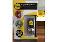 Yale Keyless Digital Lock BNIB