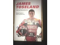 Signed James Toseland Books