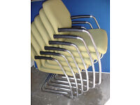 Boss fabric chairs x 6 available (Delivery)