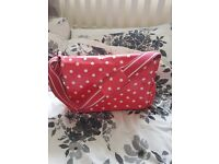 Cath Kidston Red Spotty Changing Bag