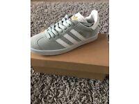 Grey gazelles brand new size 10